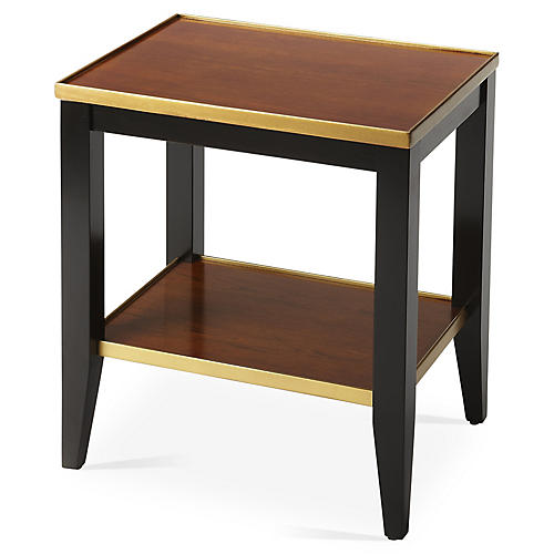 Bartell Side Table, Black