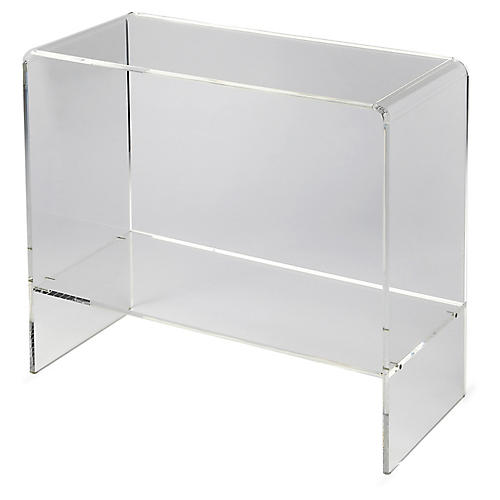 Maben Acrylic Console, Clear
