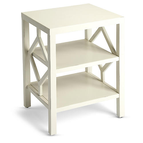 Amarilo Side Table, White