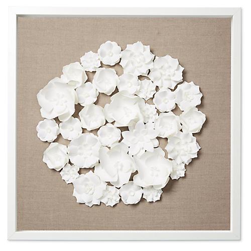 Dawn Wolfe, Spring Flowers on Flax