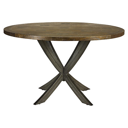 "Castello 52"" Dining Table, Timberwood"