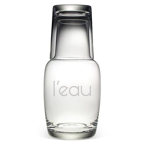 L'eau Night Bottle Set, 32oz