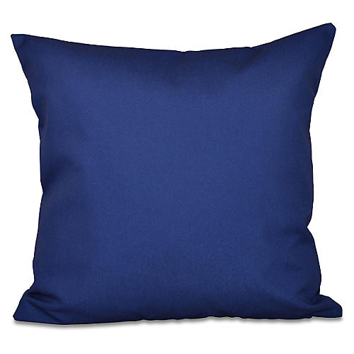 Decorative Outdoor Pillow, Navy
