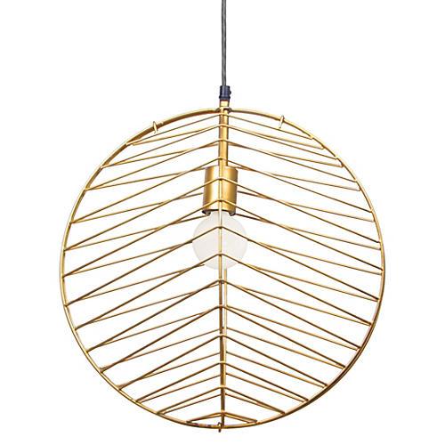 Euclid Pendant, Gold