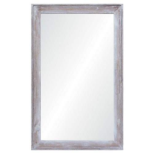 Madison Wall Mirror, Whitewash