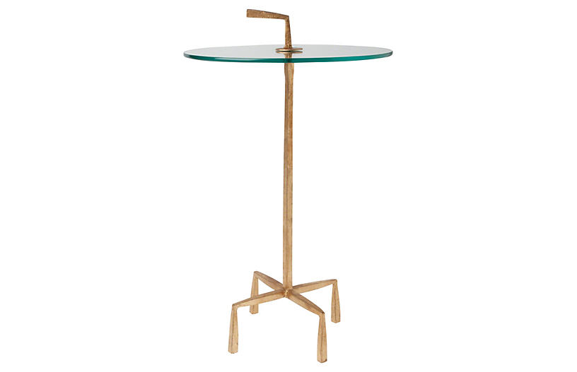 Lbl Alttext Altthumbnailimage Global Views Corin Round Side Table Gold