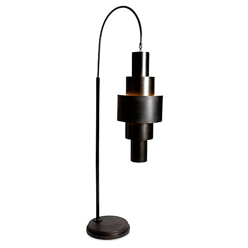 Babylon Floor Lamp, Bronze