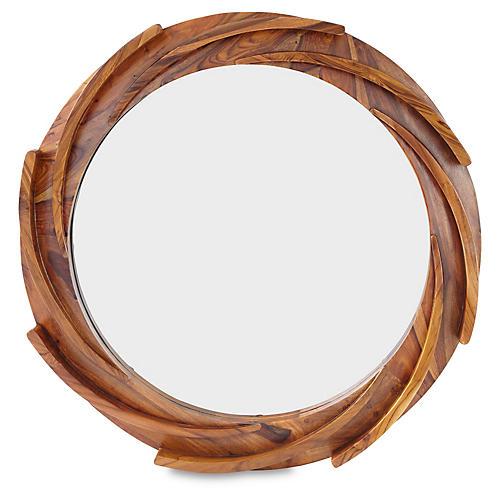 "Paddle 40"" Mirror"