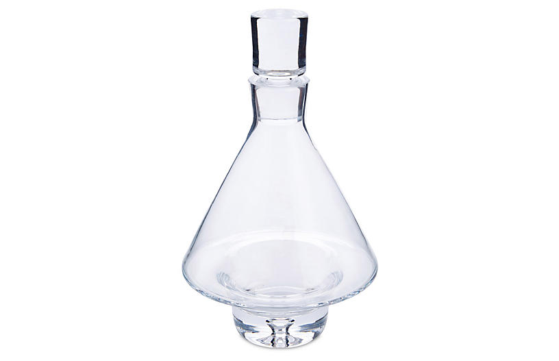 Fat-Bottom Decanter