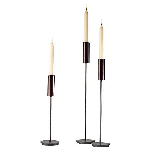 Asst. of 3 Harry Taper Candleholders
