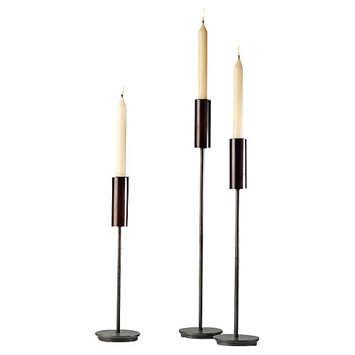 Asst. of 3 Harry Taper Candleholders