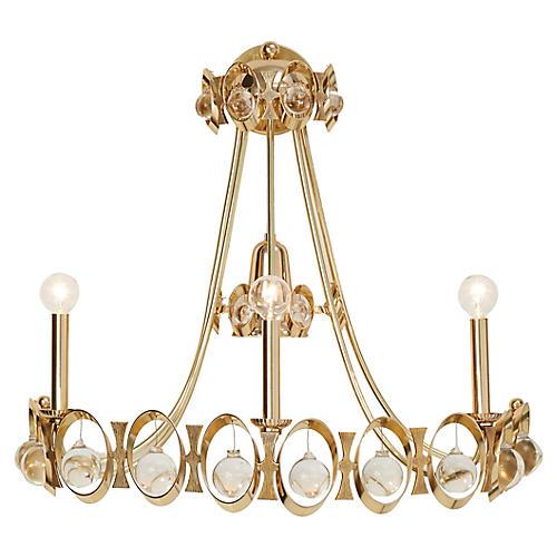 Jewel Tangle Sconce, Polished Brass