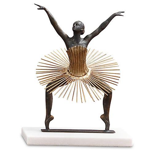 """15"""" Bauhaus Grand Plié Figure, Multi"""
