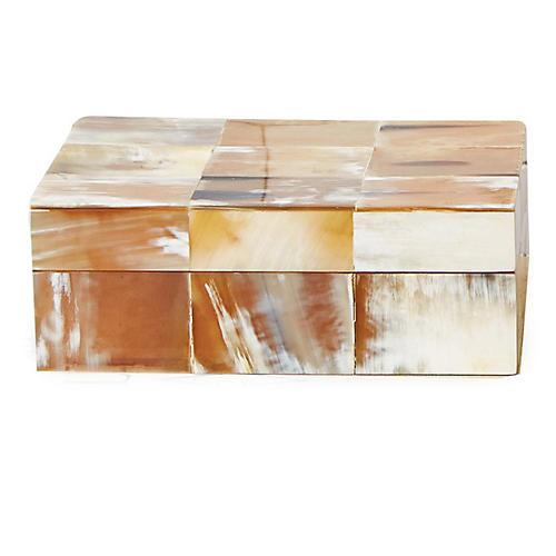 Sierra Horn Box, Natural