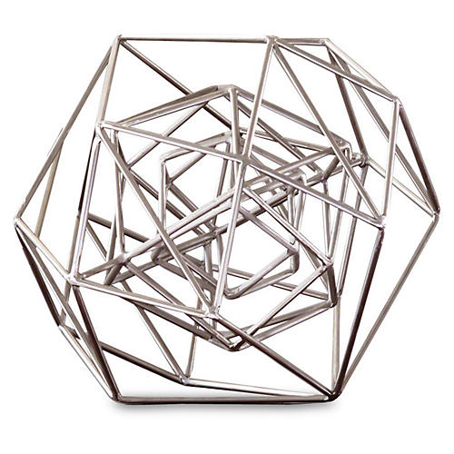 Geo Sculpture, Nickel