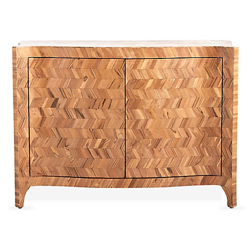 Sonnet 2-Door Sideboard, Natural