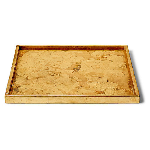 Luxe Bath Tray, Gold