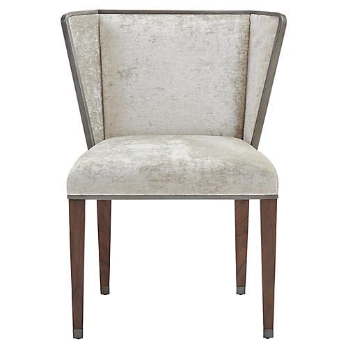 Ann Gish Accent Chair, Gray