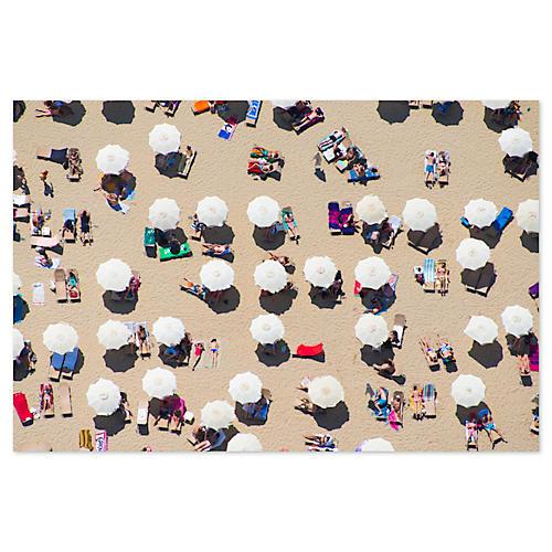 Gray Malin, Barcelona Beach Umbrellas