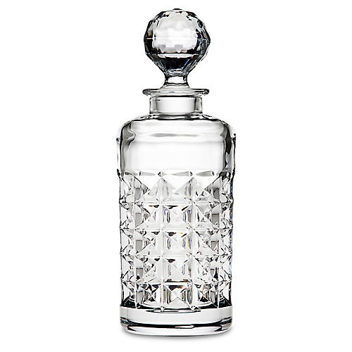 Gallery Whiskey Decanter, Clear
