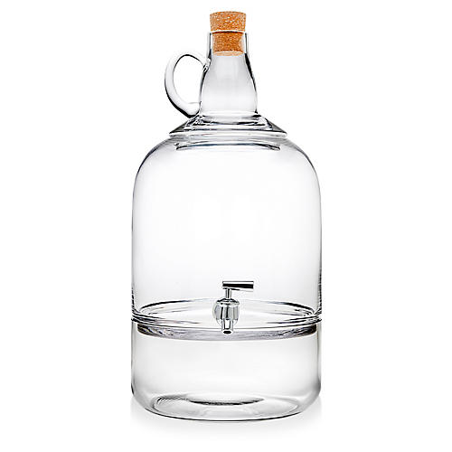 Rowan Beverage Dispenser, Clear
