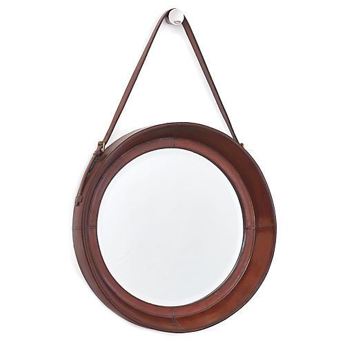 Galley Wall Mirror, Natural