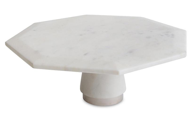 Hamon Marble Cake Stand