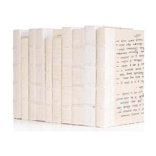 Linear Foot of Antique Vellum Books