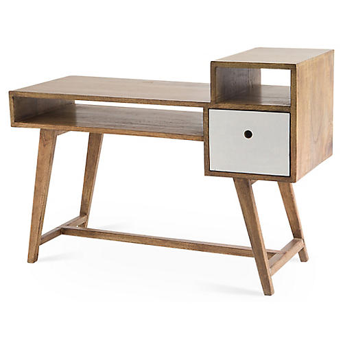 Lina Lamont Desk, Natural