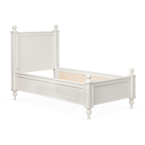 Beside-the-Sea Kids' Bed, White