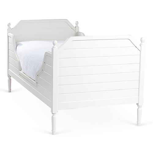 White Beach House Bed, Twin
