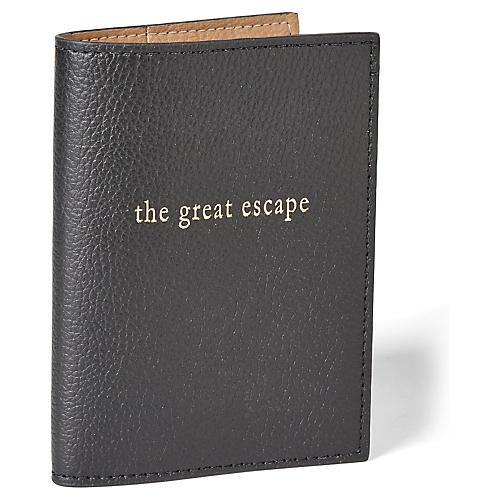 Great Escape Passport Case, Black