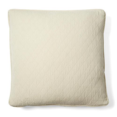 Caymus 18x18 Cotton Pillow, Natural