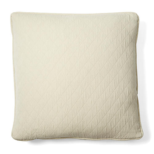 Caymus 18x18 Cotton Pillow, Natural