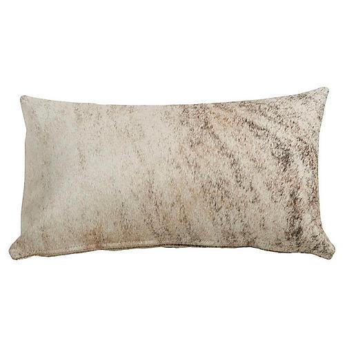 Full-Panel 13x22 Hide Pillow, Brindle