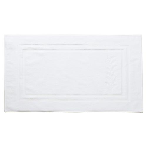 Willow Bath Mat, White/White