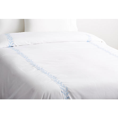 Willow Coverlet, Blue