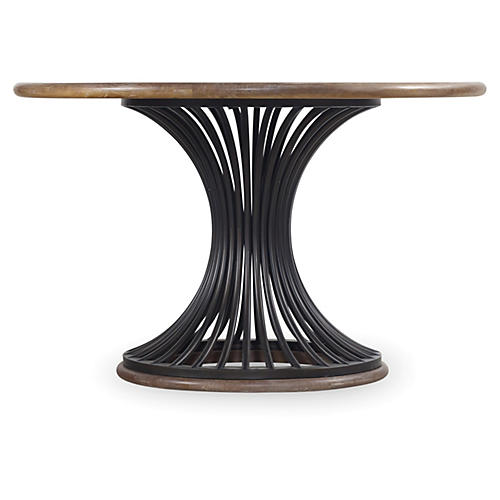 """Cinch 48"""" Round Dining Table, Natural"""