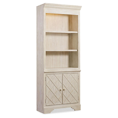 "Granada 82"" Bunching Bookcase, Natural"