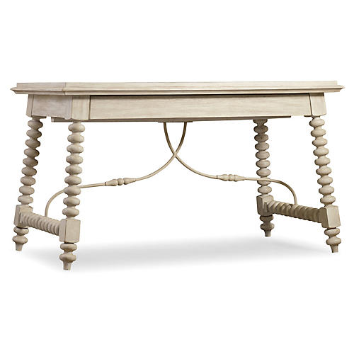 Granada Spinde Writing Desk, Natural