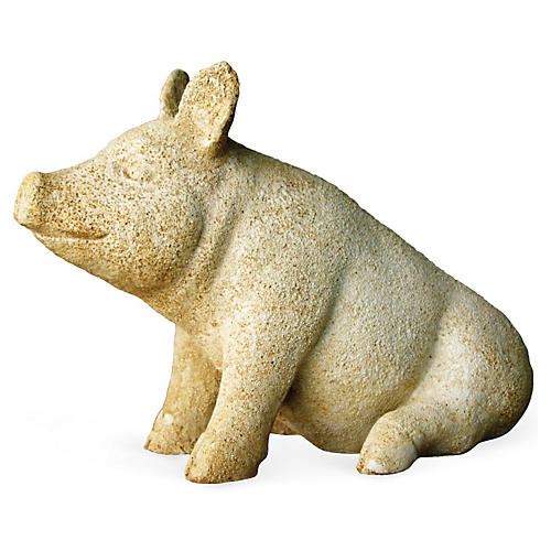"11"" Barnyard Pig, Pompeii"