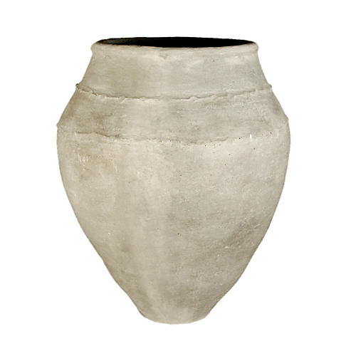 "39"" Sicilian Oil Jar, Gray"