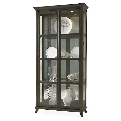Classic Modern Quinn Cabinet, Walnut