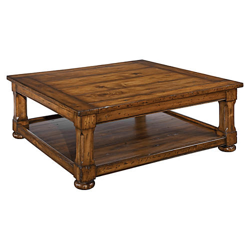 "Tudor 48"" Coffee Table, Toffee"