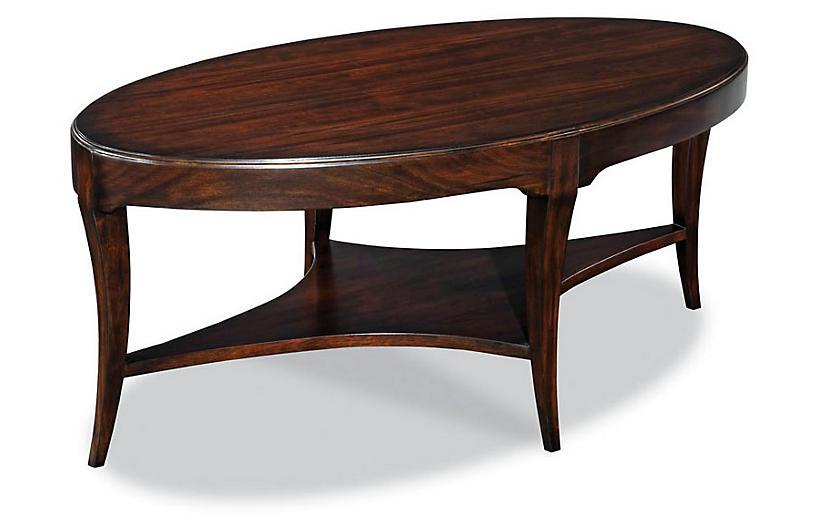 Garno Coffee Table, Mahogany