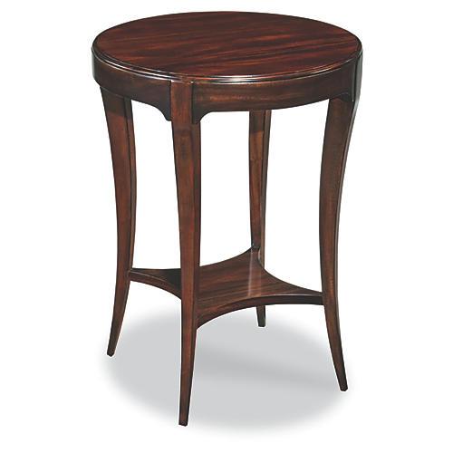 Addison Side Table, Mahogany