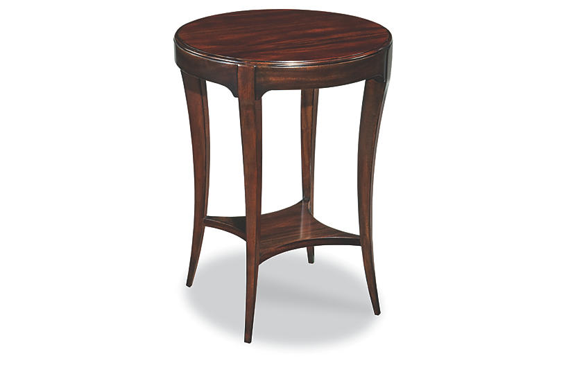 Addison Side Table, Mahogany