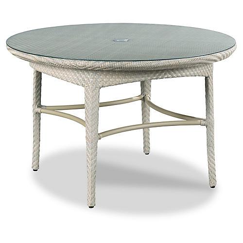 Marigot Outdoor Dining Table, Gray