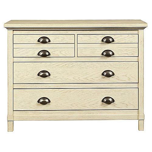 Driftwood Park Single Dresser, Vanilla