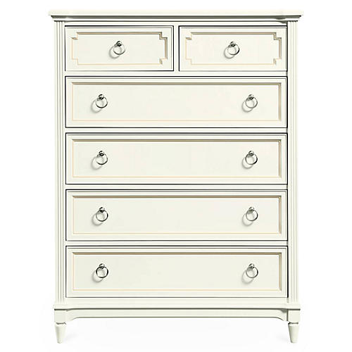 Clementine Court Dresser, White